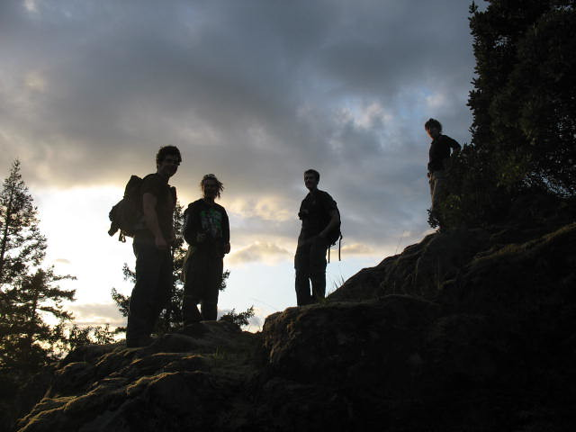Hikers' silhouettes by flickr user gerrythomasen
