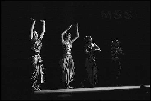 Bharatanatyam: Shobana and her dance troupe