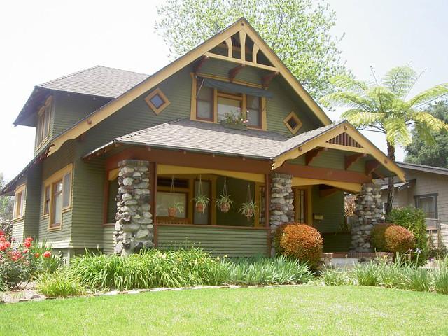 Pasadena bungalow heaven a gallery on flickr for Pasadena craftsman homes