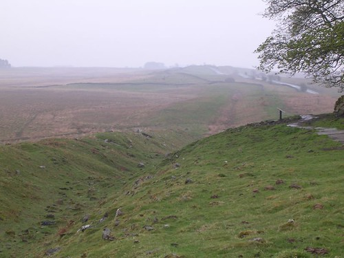 Ditch at Milecastle 34 and Wall Mile 33