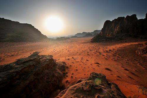 Mars on Wadi Rum desert by mishox