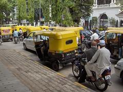 Traffic on Infantry Road