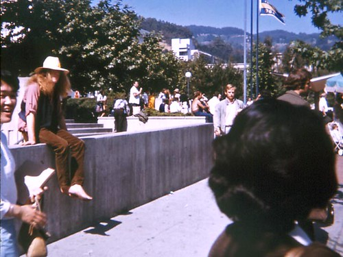Barefoot Hippie, Berkeley (1968)