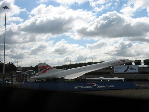 Concorde, Heathrow International Airport, England