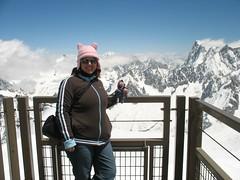 Eeyore's & I in the Alps, Aiguille du Midi, Chamonix, France