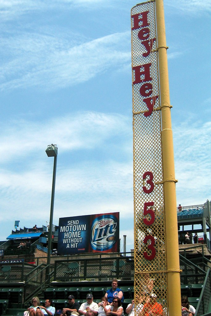 Chicago: Wrigley Field - Foul Pole