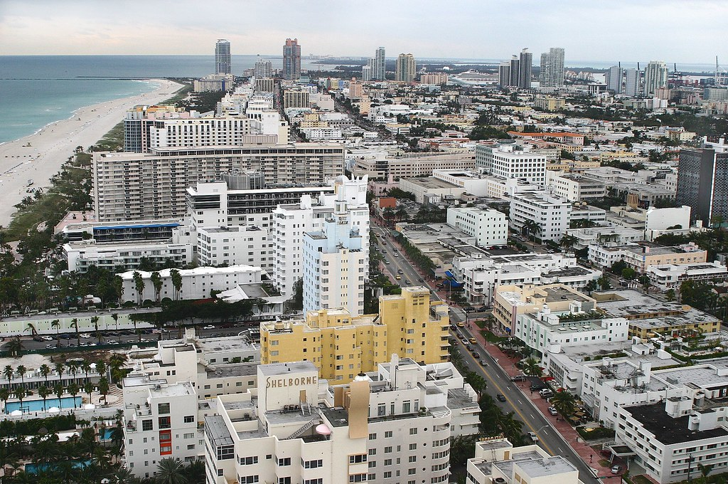 Miami Beach from the SETAI Hotel