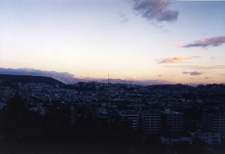 Quito, Ecuador Summer Sunset