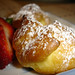 Heavenly Cream Puff with Strawberry