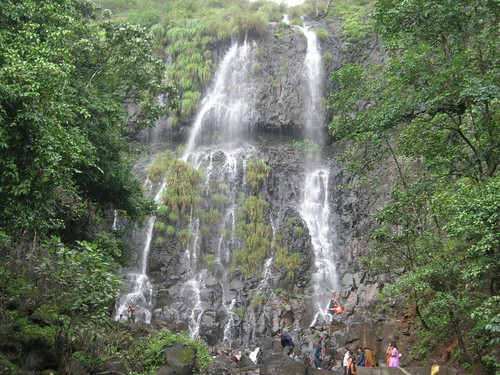 Amboli Waterfall view