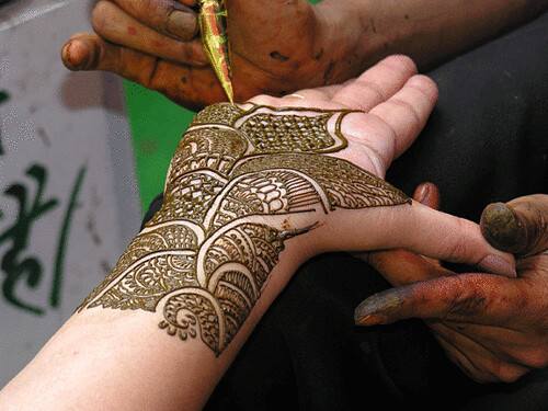 Mehndi For Teej : Teej mehendi new delhi india pavan