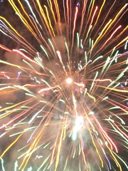 recreation(0.0), outdoor recreation(0.0), fireworks(1.0), event(1.0), new year(1.0), sparkler(1.0), new year's eve(1.0),