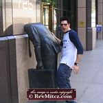 Sometimes you need to hump a statue in downtown LA