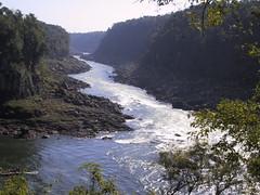 ¿Dónde está el río Iguazú?