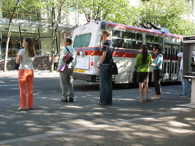 Robson & Howe bus stop