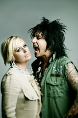 Kelly Gray with Motley Crue's Nikki Sixx - Royal Underground
