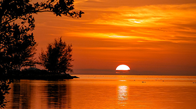 The poetic sunsets of Key West.