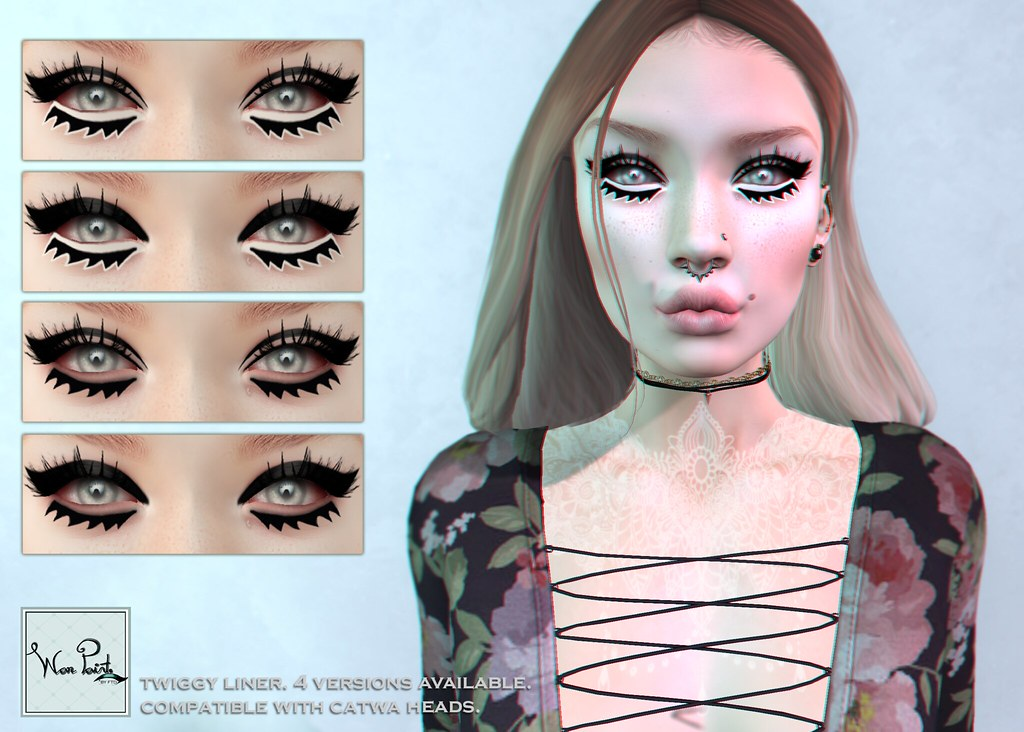 WarPaint* @BODYFY - Twiggy liner - SecondLifeHub.com