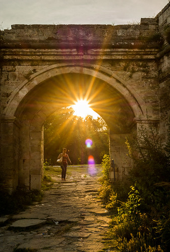 sunset sun wall roman samsung historic fortress 30mm