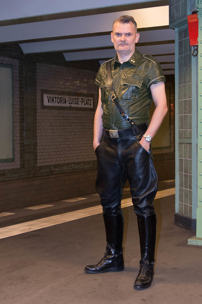 Man Leather Fetish Boot - Other - Photo Xxx-4123