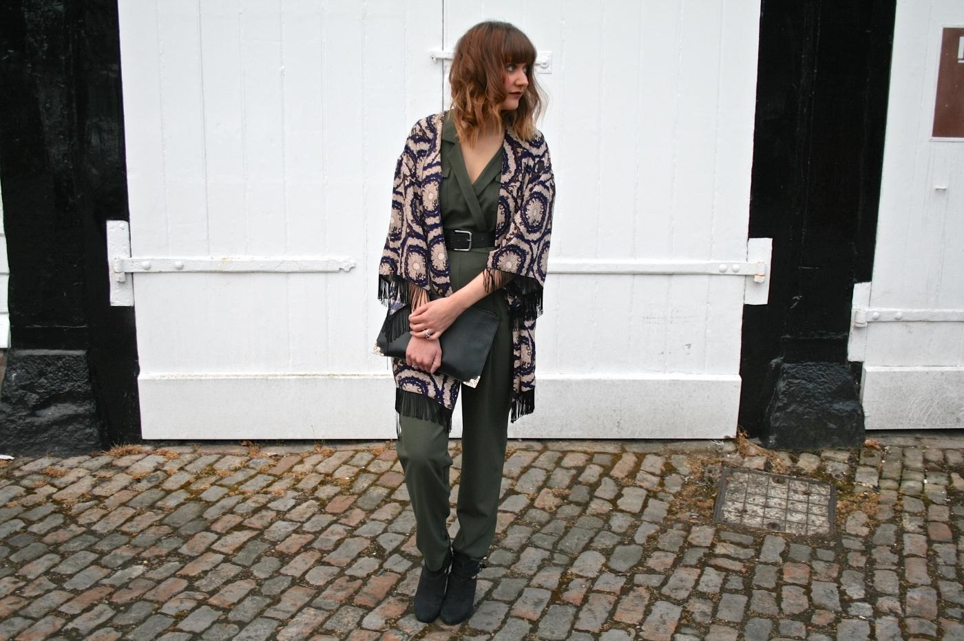 kimono, utility jumpsuit