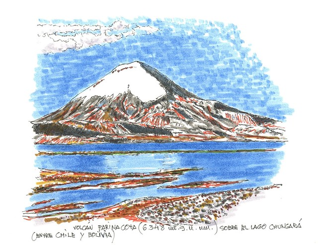 Volcán Parinacota (6.348 m.s.n.m.)
