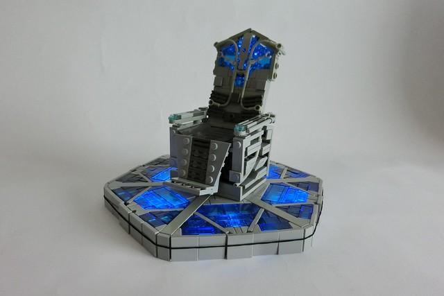 Lego Stargate control chair