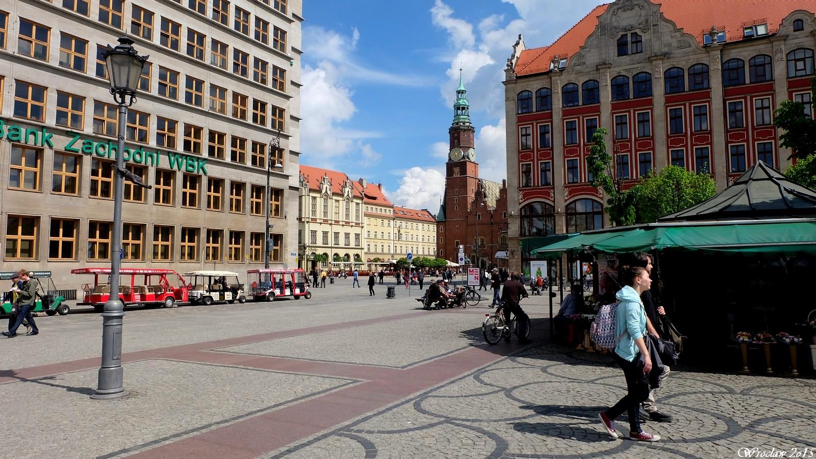 Plac Solny, Wroclaw, Poland