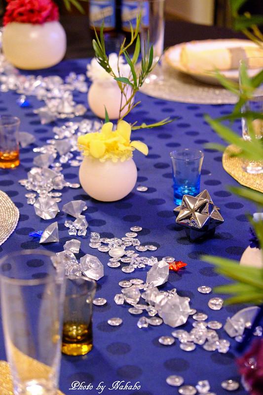 七夕装飾 「二十四節気 小暑 ~天の川での2人の出会いを願いながら~」 by Nakabo