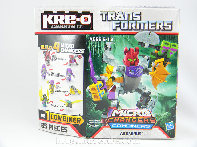 Transformers Abominus Kre-O - caja