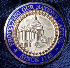 US Capitol Police challenge coin