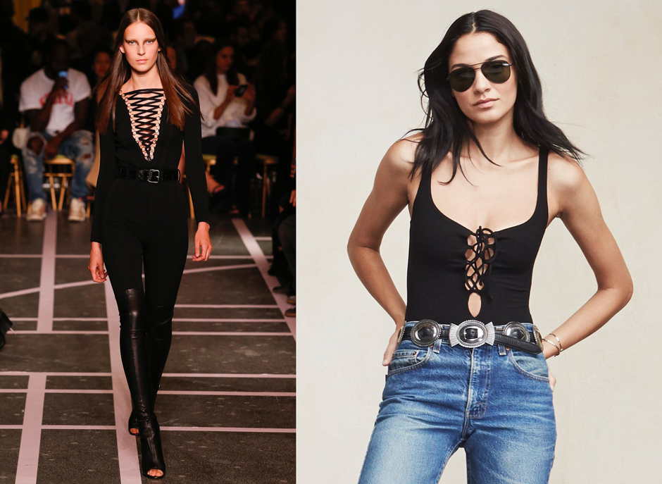 lace-up-front-bodysuit-street-style