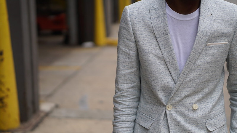 White Summer Suit - Menswear
