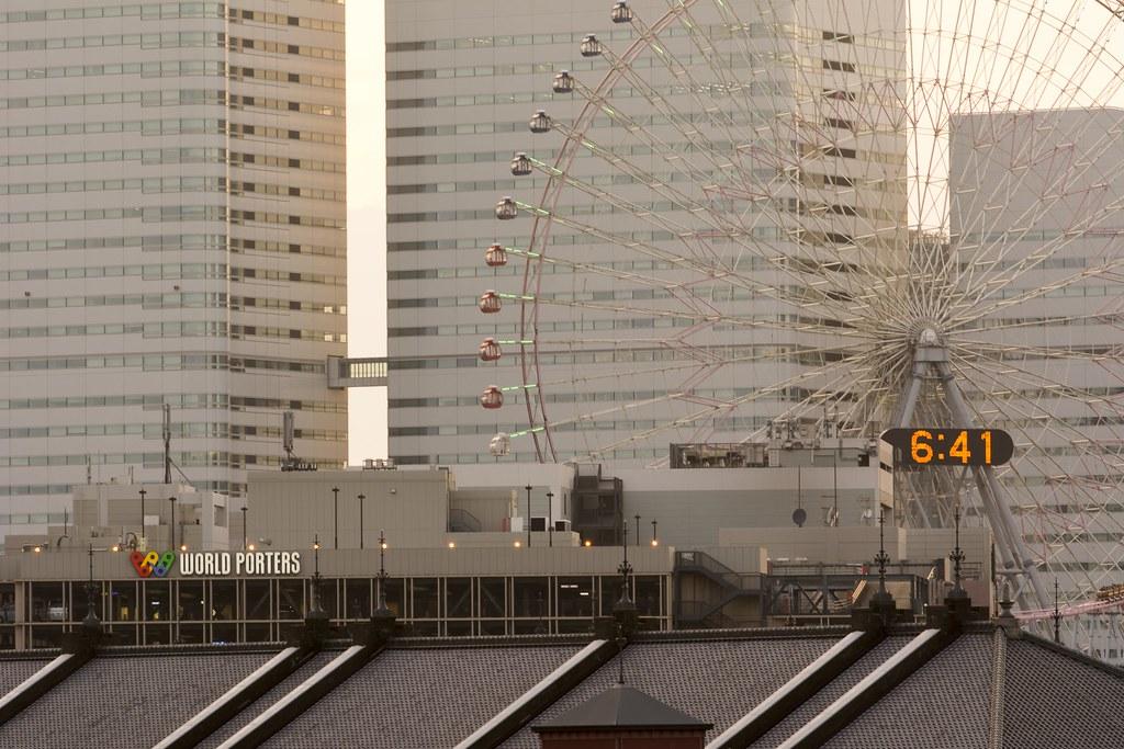 2015.07.11 Sunset, Yokohama (夕景 - 横浜)