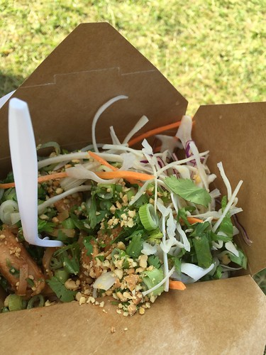 A decent pad thai, found at Ottawa Bluesfest 2015