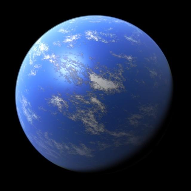 Header of ocean planet