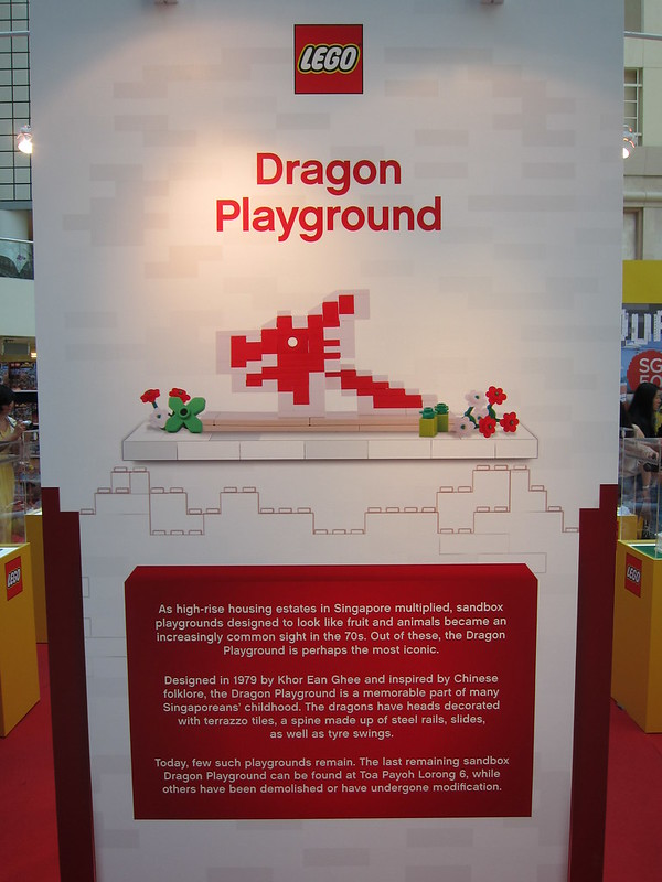 LEGO SG50 Limited Edition Singapore Icons Mini Build - Dragonball Playground - Poster