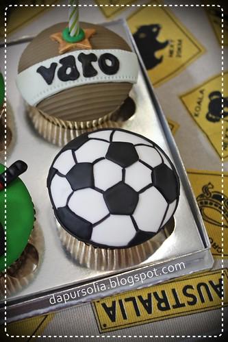 Sports Cupcake Set for Varo