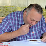 Parched Pea Eating World Record Attempt  in Preston - 15