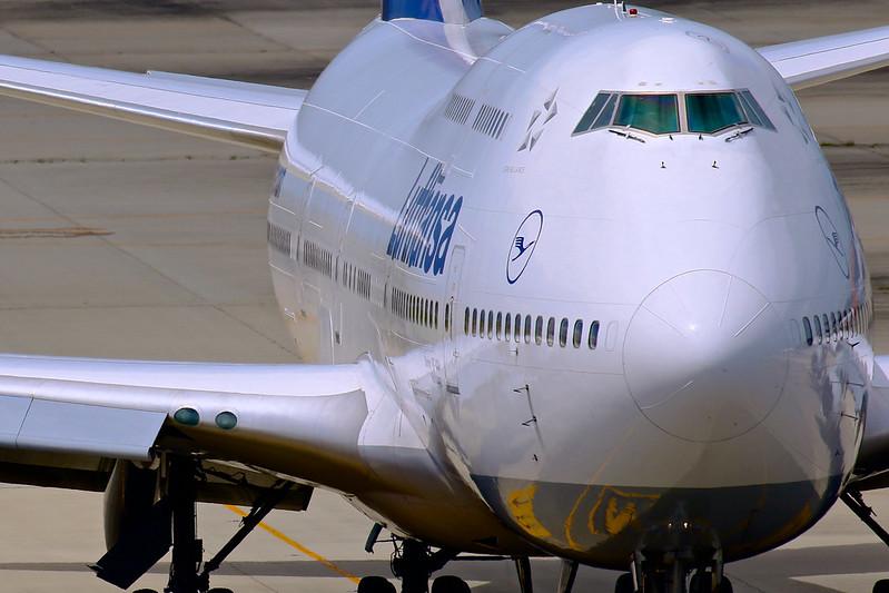 D-ABVW Lufthansa Boeing 747-430 Wolfsburg