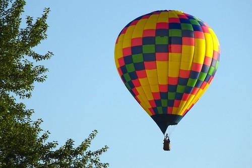 newyork hotairballoon binghamton spiediefest chenangoriver otsiningopark balloonrally spiediefestballoonrally treetoplevel prettygoodview morningballoonlaunch