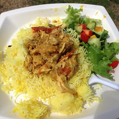 meal, curry, steamed rice, thai fried rice, fish, meat, biryani, produce, food, dish, cuisine,