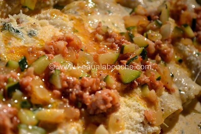 Cannelloni au Porc et aux Courgettes © Ana Luthi Tous droits réservés 016