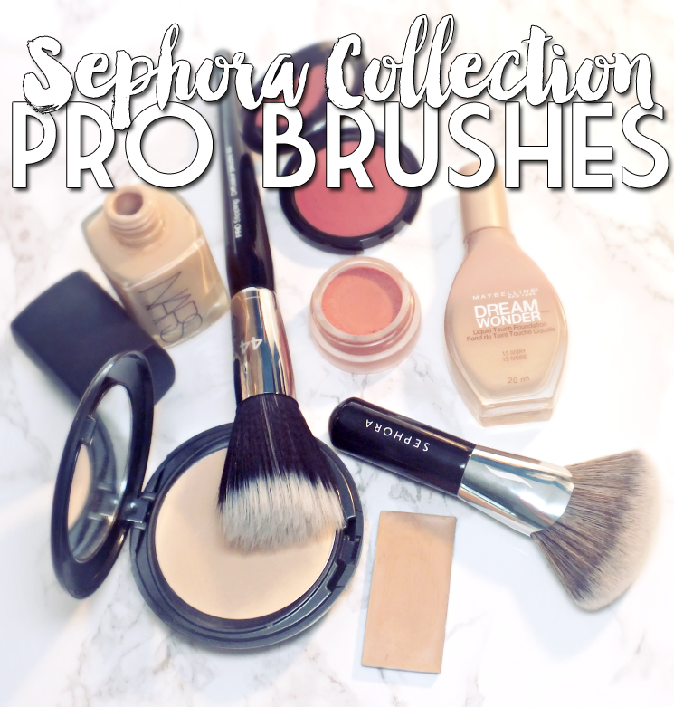 Sephora Collection Pro Stippling Brush and Pro Full Coverage Airbrush (3)