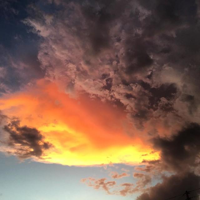 Wow. #florida #skies