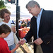 Agriculture Secretary Tom Vilsack at No Union Farmers Mkt, Cleveland, OH