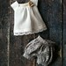 Puffball shorts sets by little_moshi