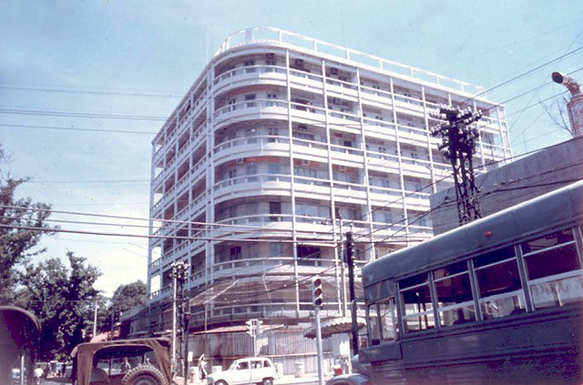 Tòa nhà NSA, Saigon, góc Phan Đình Phùng-Đoàn Thị Điểm (nay là góc Nguyễn Đình Chiểu-Trương Định)