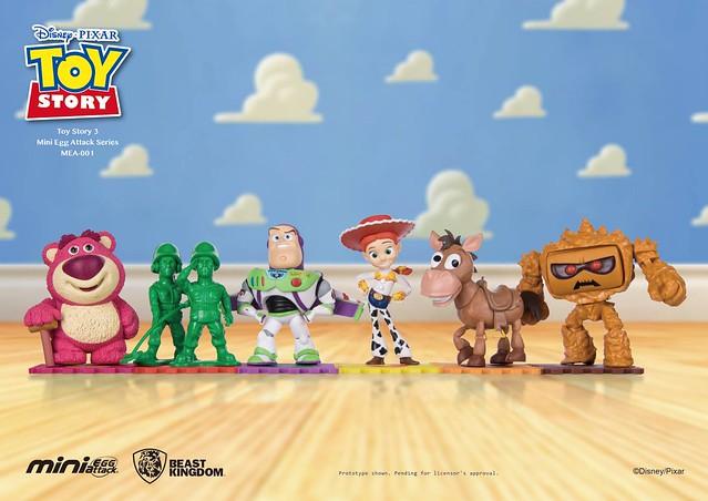 野獸國 Mini Egg Attack 系列【玩具總動員】Toy Story MEA-001