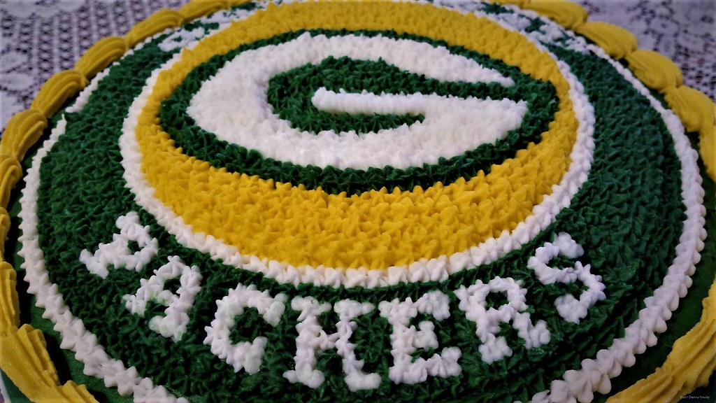 Green Bay Packers Birthday Cake A Photo On Flickriver